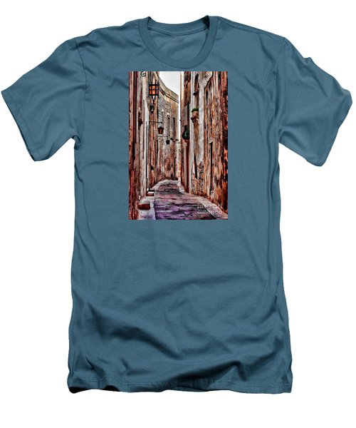 Etched In Stone Men's T-Shirt (Slim Fit) by Tom Prendergast