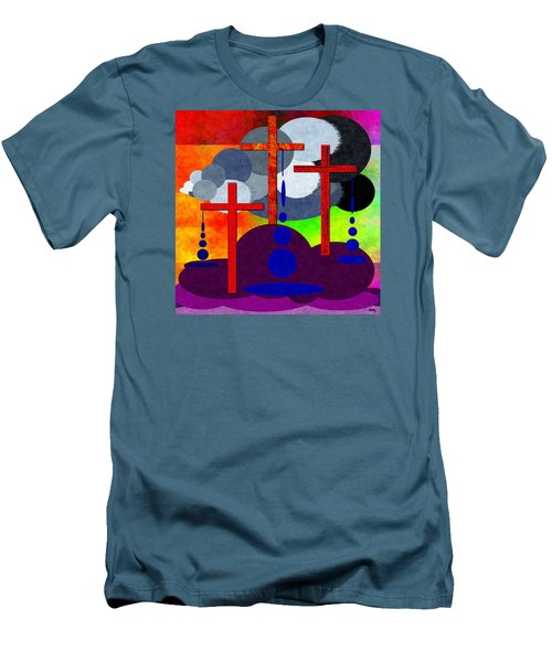 Men's T-Shirt (Slim Fit) featuring the digital art Eternal Consequences by Glenn McCarthy Art and Photography