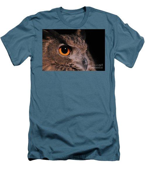 Eurasian Eagle-owl #3 Men's T-Shirt (Athletic Fit)