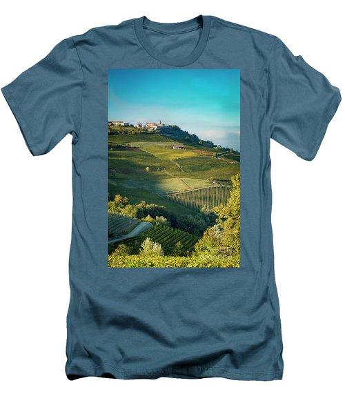 Men's T-Shirt (Slim Fit) featuring the photograph Evening In Piemonte by Brian Jannsen