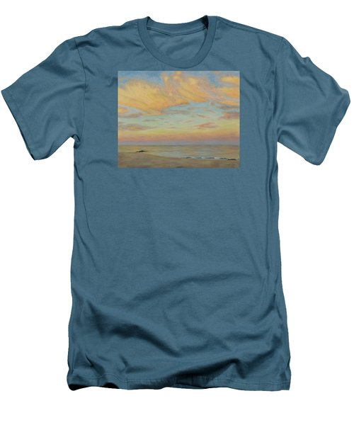Evening Men's T-Shirt (Slim Fit) by Joe Bergholm