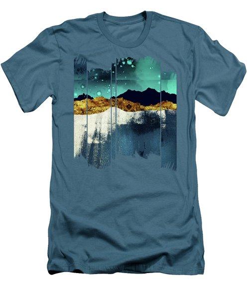 Evening Stars Men's T-Shirt (Slim Fit) by Katherine Smit