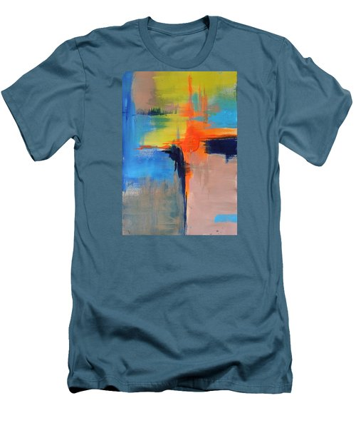 Excitement Men's T-Shirt (Slim Fit) by Becky Chappell