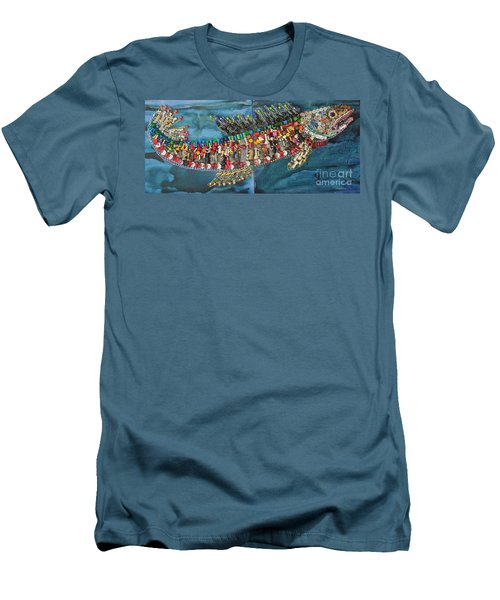 Exotic Fish Men's T-Shirt (Athletic Fit)