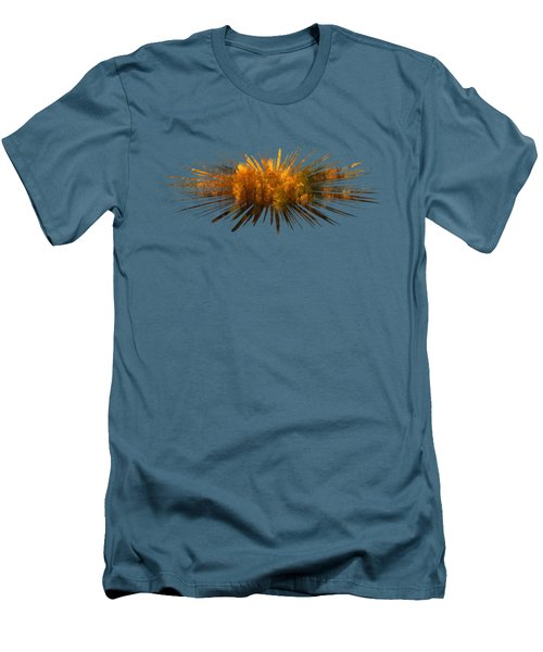 Explosion Of Autumn Men's T-Shirt (Athletic Fit)