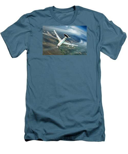 Eye In The Sky Men's T-Shirt (Slim Fit) by Peter Chilelli