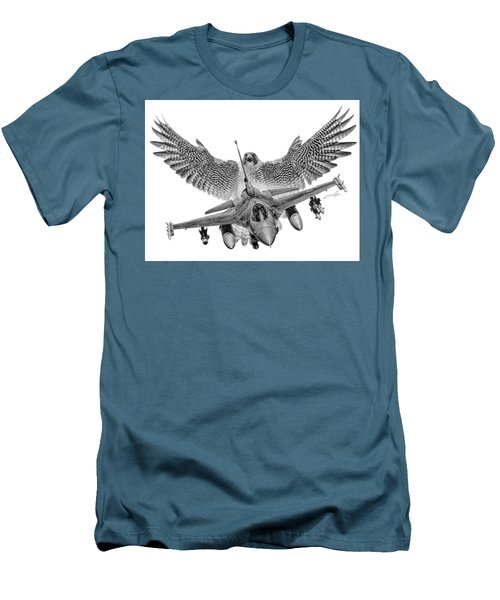 F-16 Fighting Falcon Men's T-Shirt (Athletic Fit)
