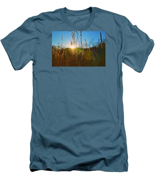 Men's T-Shirt (Slim Fit) featuring the photograph Faded Day by Nikki McInnes