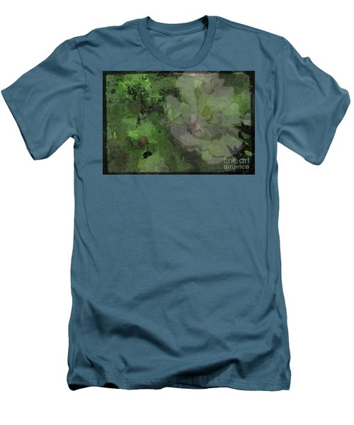Men's T-Shirt (Slim Fit) featuring the photograph Faded Rose by Kathie Chicoine
