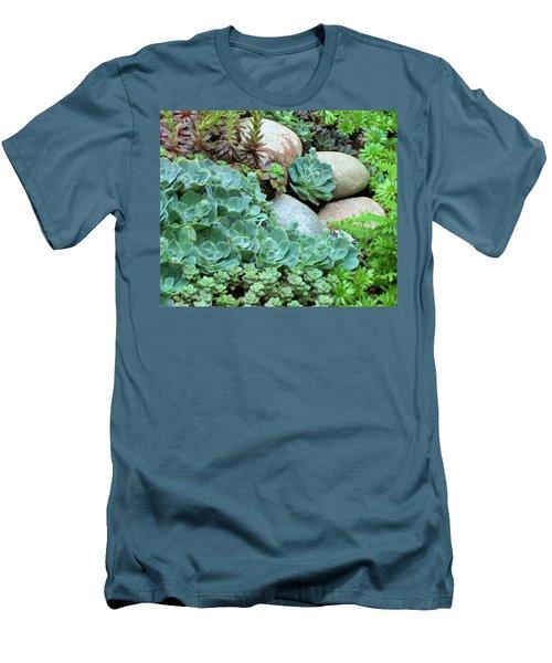 Men's T-Shirt (Slim Fit) featuring the photograph Fairy Garden by John Glass