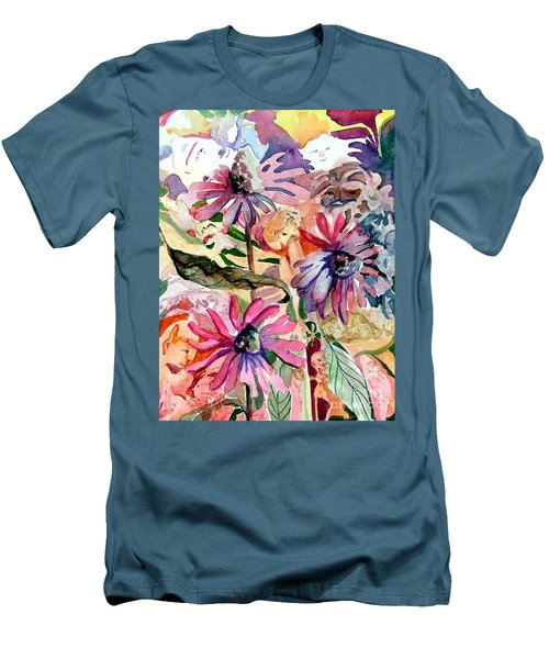 Fairy Land Men's T-Shirt (Slim Fit) by Mindy Newman