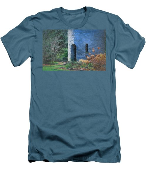 Fairy Tale Tower Men's T-Shirt (Athletic Fit)