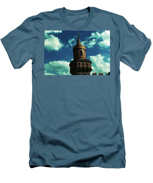 Fake German Castle Or Oberbaumbruecke Men's T-Shirt (Athletic Fit)