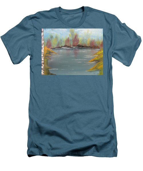 Fall Colors Men's T-Shirt (Slim Fit) by Thomas Janos