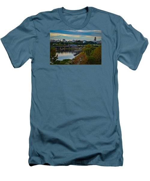 Fall Evening In Richmond Men's T-Shirt (Athletic Fit)