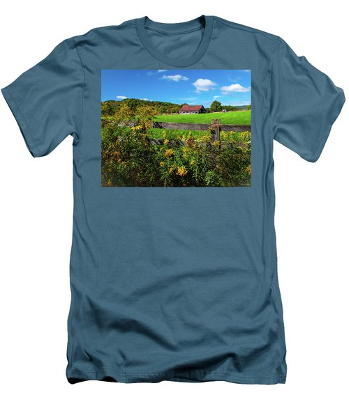 Fall Farm Men's T-Shirt (Athletic Fit)