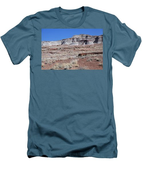 Men's T-Shirt (Slim Fit) featuring the photograph Fallen Giants by Gary Kaylor