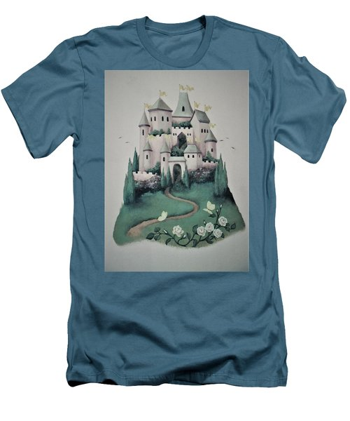 Fantasy Castle Men's T-Shirt (Athletic Fit)