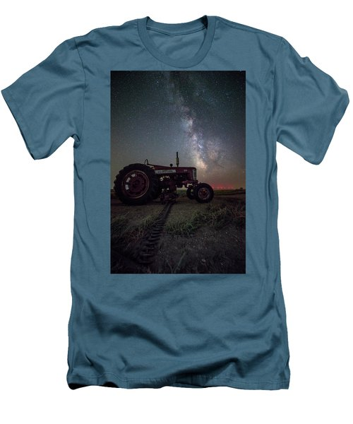 Men's T-Shirt (Athletic Fit) featuring the photograph Farmall by Aaron J Groen