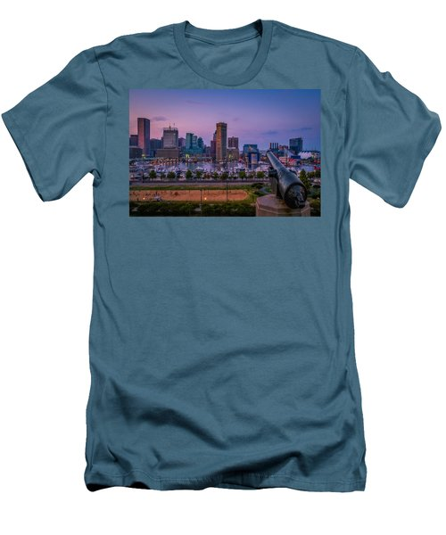 Federal Hill In Baltimore Maryland Men's T-Shirt (Athletic Fit)