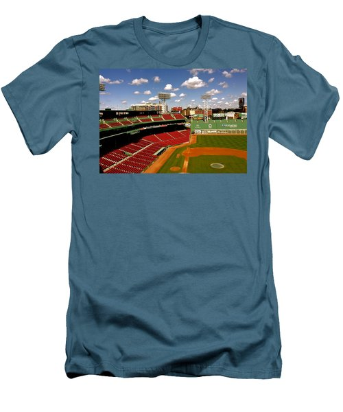 Fenway Park Iv  Fenway Park  Men's T-Shirt (Slim Fit) by Iconic Images Art Gallery David Pucciarelli
