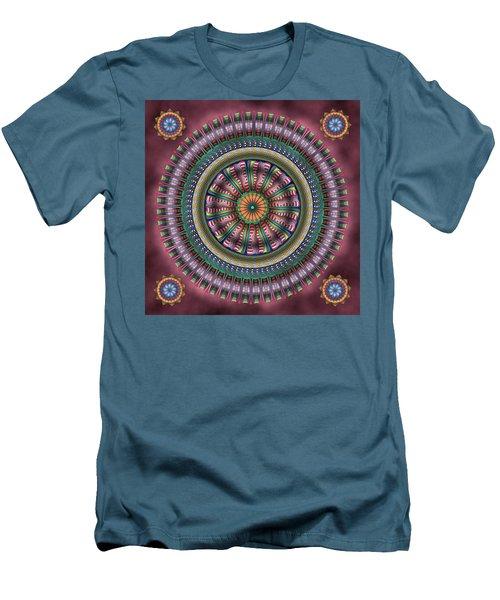 Ferris Wheel Men's T-Shirt (Athletic Fit)