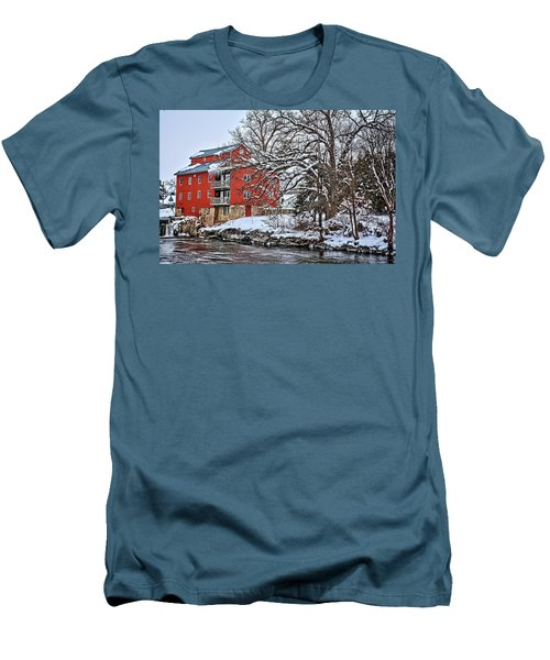 Fertile Winter Men's T-Shirt (Slim Fit) by Bonfire Photography