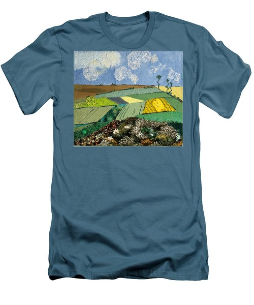 Fields To Gogh Men's T-Shirt (Athletic Fit)