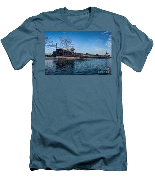 Final Mooring For The Algoma Transfer Men's T-Shirt (Athletic Fit)
