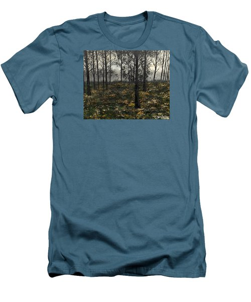 Find The Right Path Men's T-Shirt (Slim Fit) by Lisa Aerts