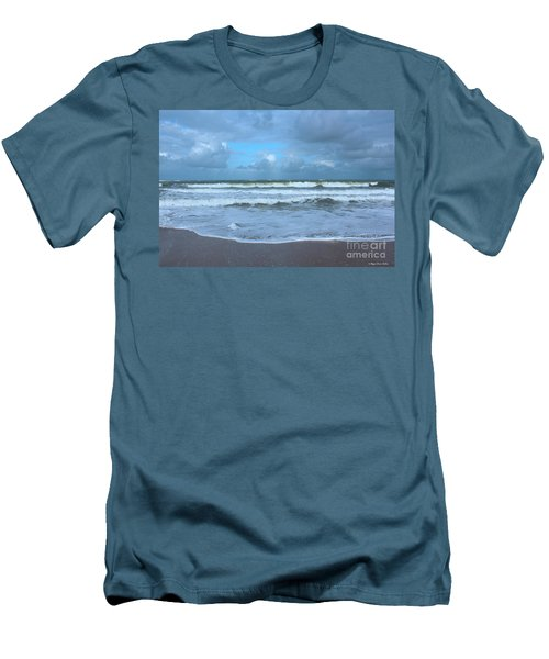Find Your Beach Men's T-Shirt (Slim Fit) by Megan Dirsa-DuBois