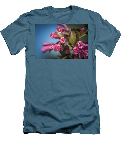 Men's T-Shirt (Athletic Fit) featuring the photograph Fine Wine Weigela by William Lee