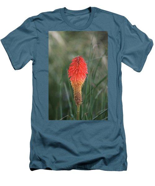Men's T-Shirt (Slim Fit) featuring the photograph Firecracker by David Chandler