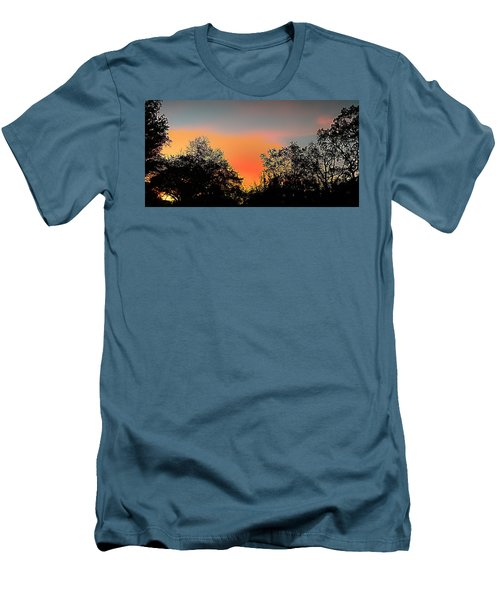 Men's T-Shirt (Slim Fit) featuring the painting Firefly by Steve Sperry