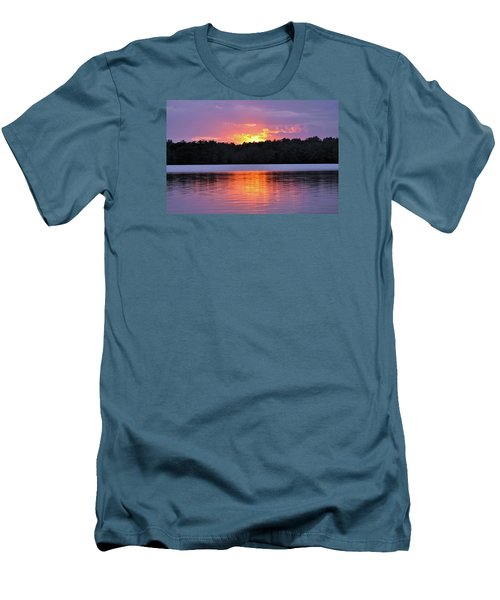 Men's T-Shirt (Slim Fit) featuring the photograph Sunsets by Glenn Gordon