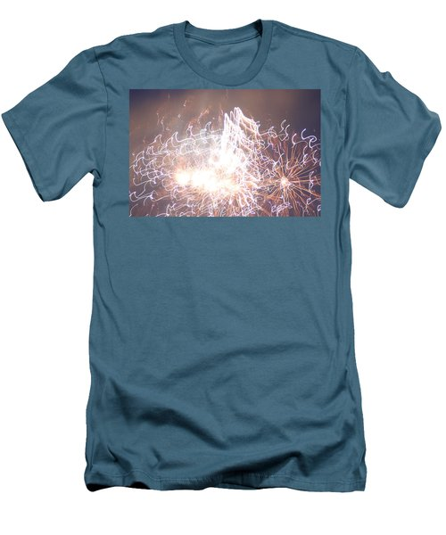Fireworks In The Park 6 Men's T-Shirt (Athletic Fit)
