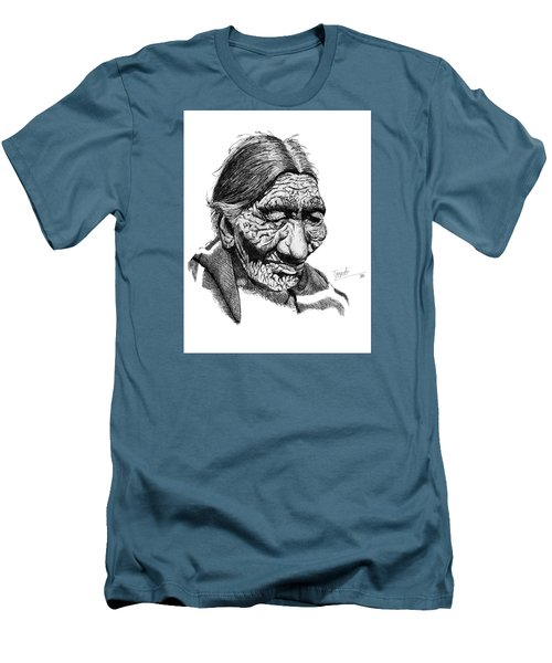 First 100 Years Men's T-Shirt (Slim Fit) by Lawrence Tripoli