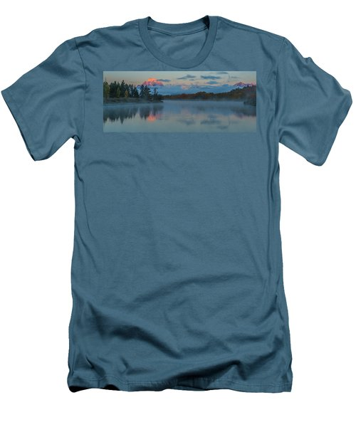 First Light Of Dawn Men's T-Shirt (Slim Fit) by Yeates Photography