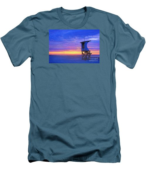First Light On The Beach Men's T-Shirt (Athletic Fit)