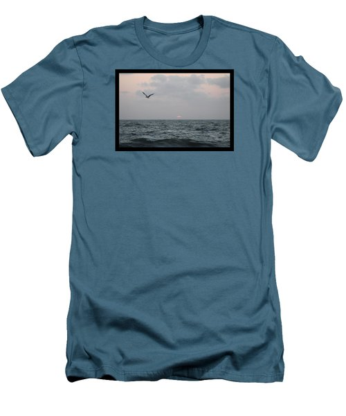 Men's T-Shirt (Slim Fit) featuring the photograph First Light by Robert Banach