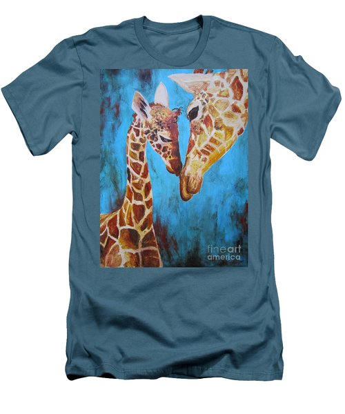 First Love Men's T-Shirt (Slim Fit) by Ashley Price