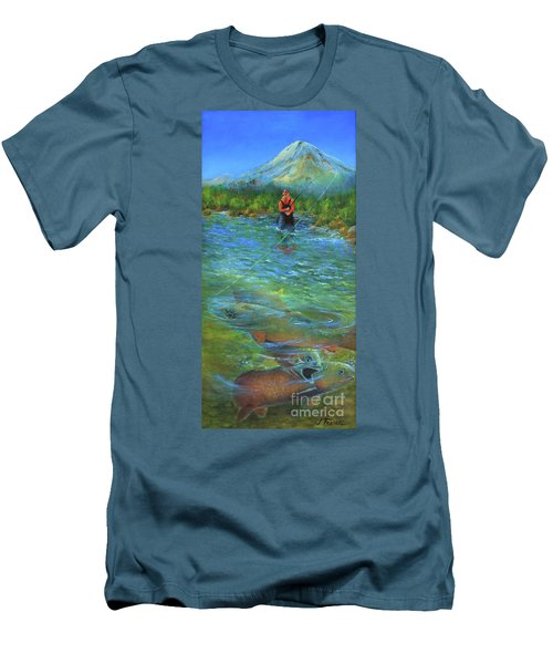 Fish Story Men's T-Shirt (Athletic Fit)