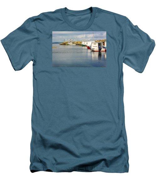 Fishing Boats At Feltzen South Men's T-Shirt (Athletic Fit)