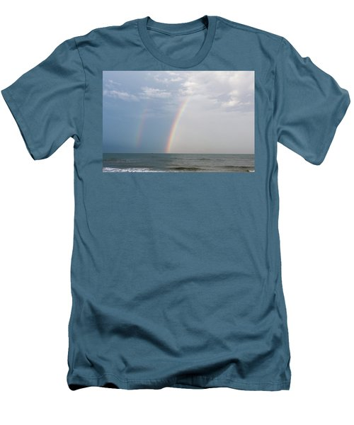 Fishing For A Pot Of Gold Men's T-Shirt (Athletic Fit)