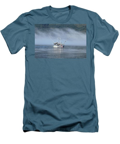 Fishing In Alaska Men's T-Shirt (Athletic Fit)