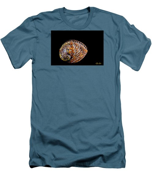 Flame Abalone Men's T-Shirt (Slim Fit) by Rikk Flohr