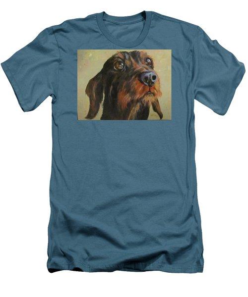 Flavi Men's T-Shirt (Slim Fit) by Barbara O'Toole