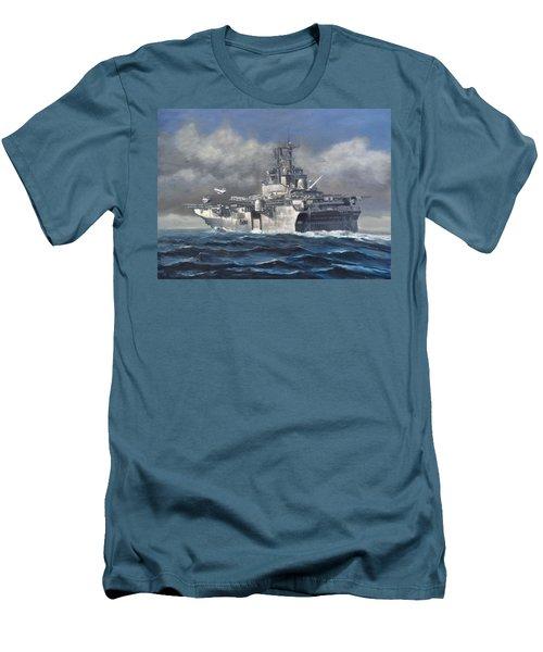 Flight Ops Men's T-Shirt (Slim Fit) by Stephen Roberson