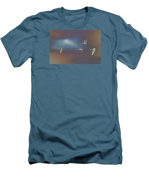Flight Men's T-Shirt (Slim Fit) by Richard Patmore
