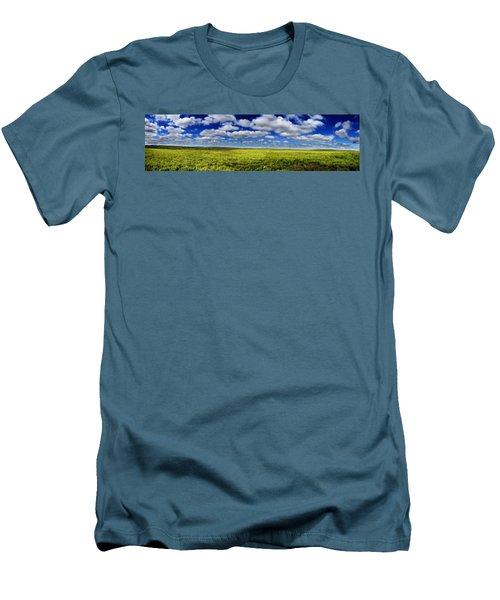 Flint Hills Panorama 1 Men's T-Shirt (Athletic Fit)